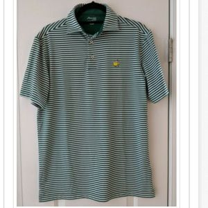 Masters Tech Augusta National Golf Polo Mens Small